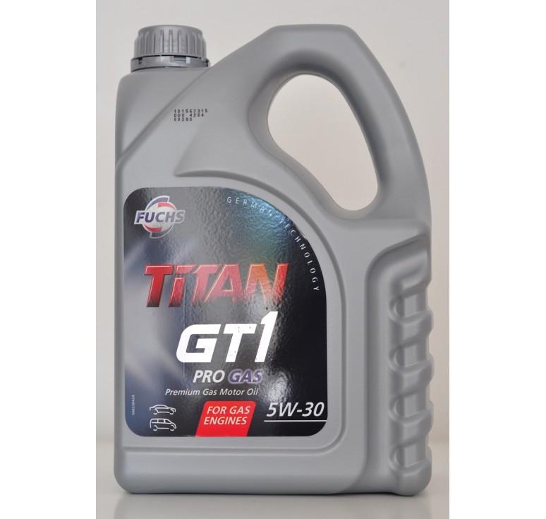 FUCHS TITAN GT1 PRO GAS 5W-30 (4 ΛΙΤΡΑ)